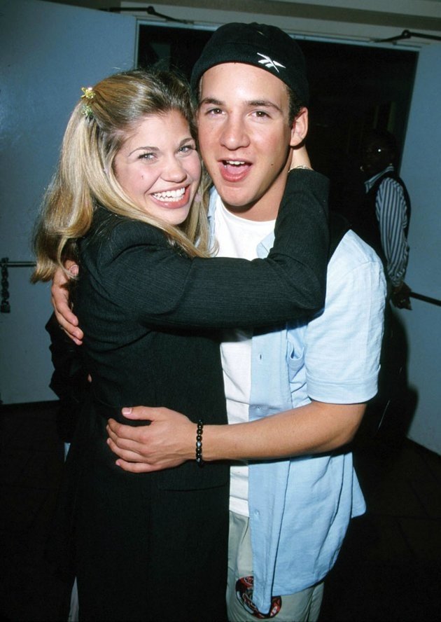 Ben Savage & Danielle Fishel // too cute ❤Loved Boy Meets World!