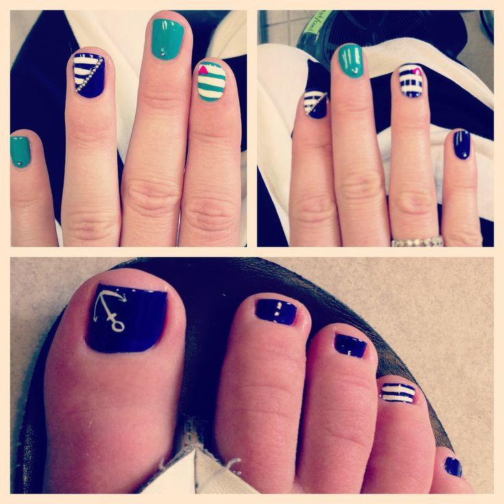 78 best images about anchor nails on pinterest nail art