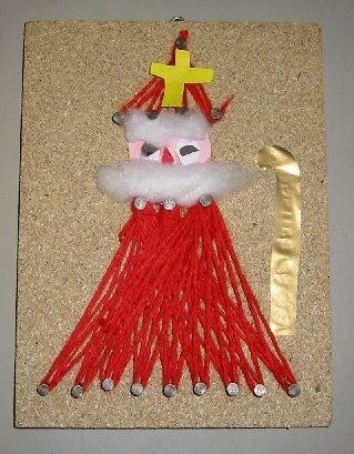 Sinterklaas met wol