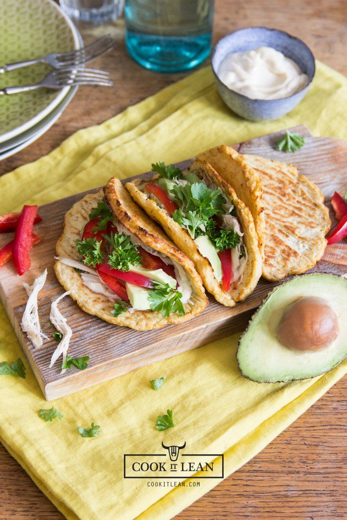 Bezzbożowe tacos (z kalafiora) - Cook it Lean - sprawdzone paleo przepisy