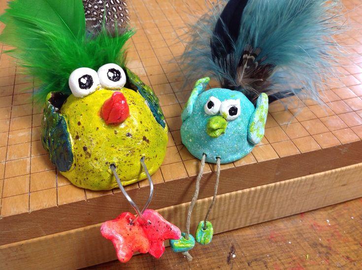 How to Make Pinch-Pot Bird Sculptures | Recipe | Sculpture ...