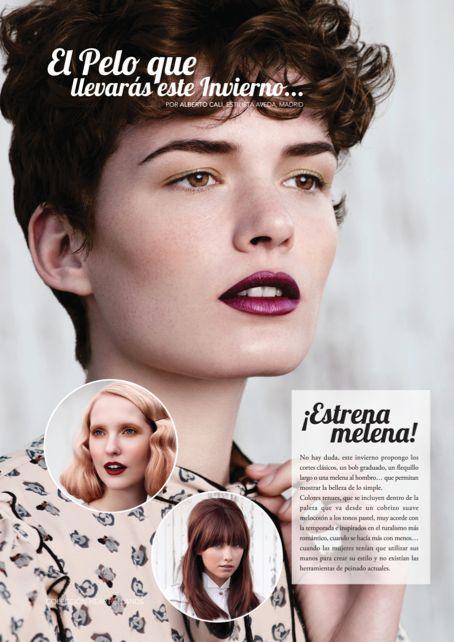 El pelo que llevarás este invierno #belleza #hair #estilo por Alberto Cali, Estilista Aveda, Madrid
