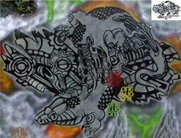 Graffiti art stencil suck12 indonesia
