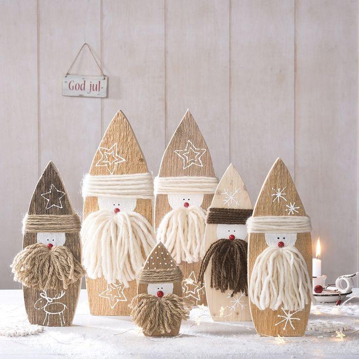 holzdeko fr winter weihnachten - Holz Deko Selber Machen