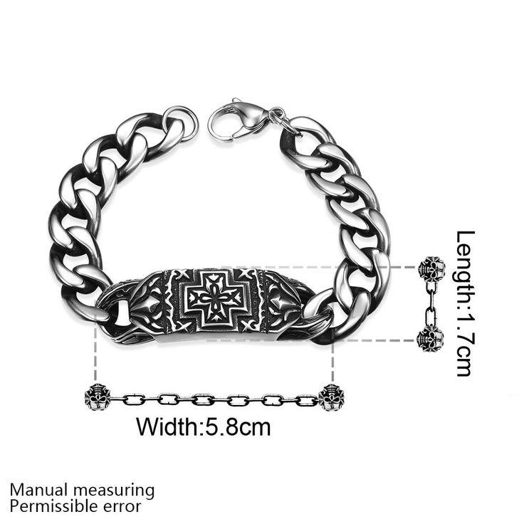 Новое высокое качество мужчины браслеты звено цепи H015 Моды 316L браслет из нержавеющей стали для человекакупить в магазине Rose Fashion Jewelry CO., LTD.наAliExpress