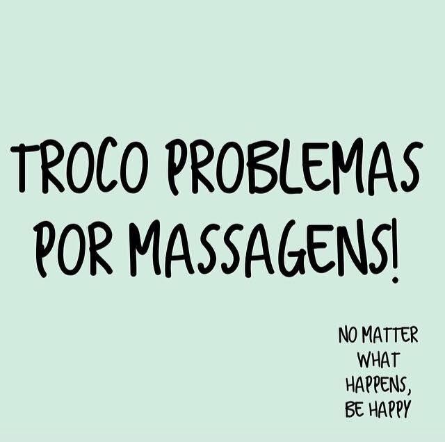 Por massagens