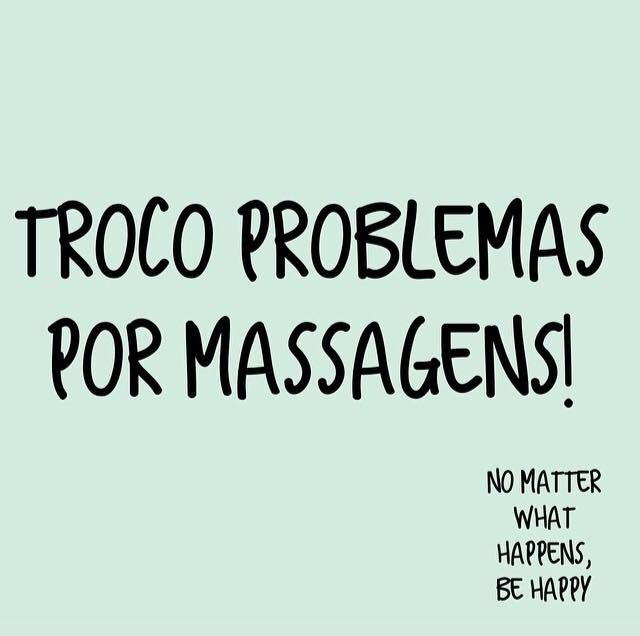 Por massagens