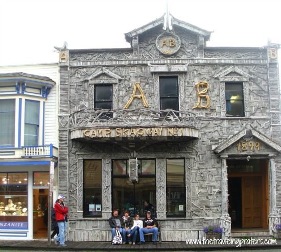 The Visitors Center in Skagway Alaska