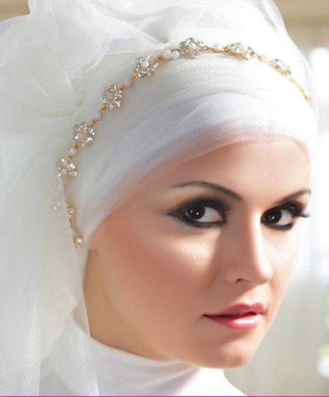 Hijab Ideas For Veiled Brides - Passion Fashion Mania