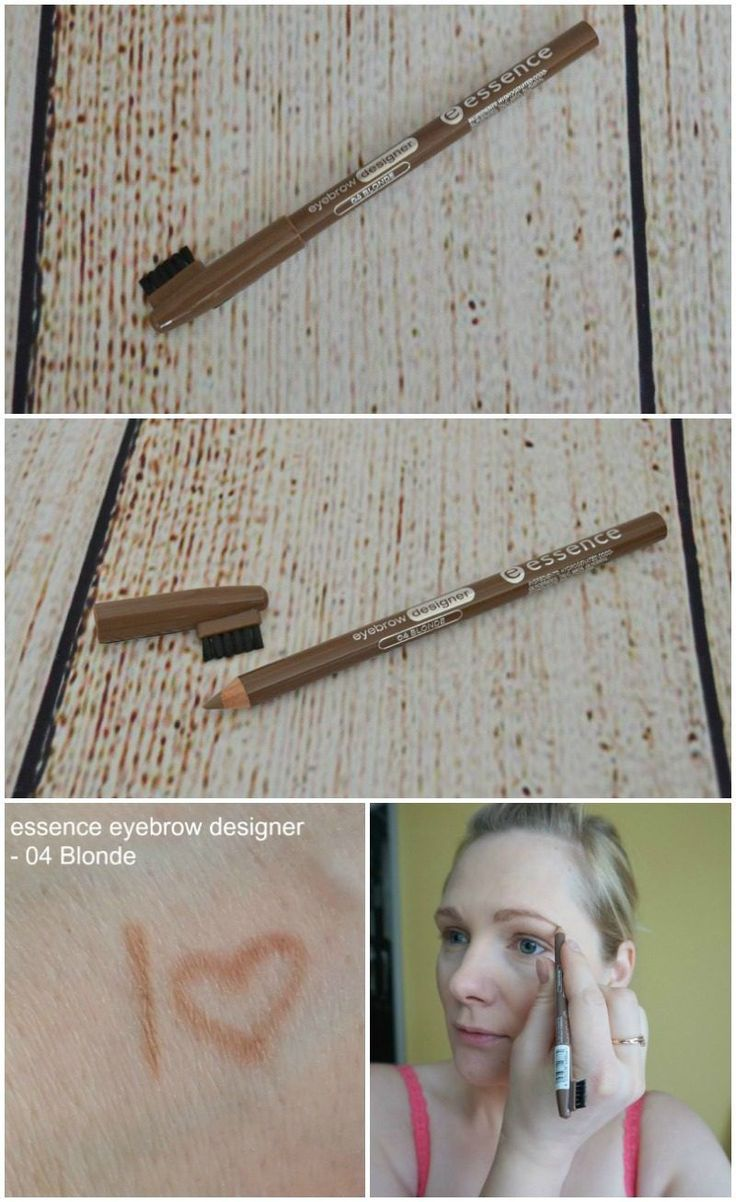 essence eyebrow designer – 04 blonde review and sw…