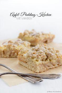 Apple Custard Cake • Apfel-Pudding-Kuchen