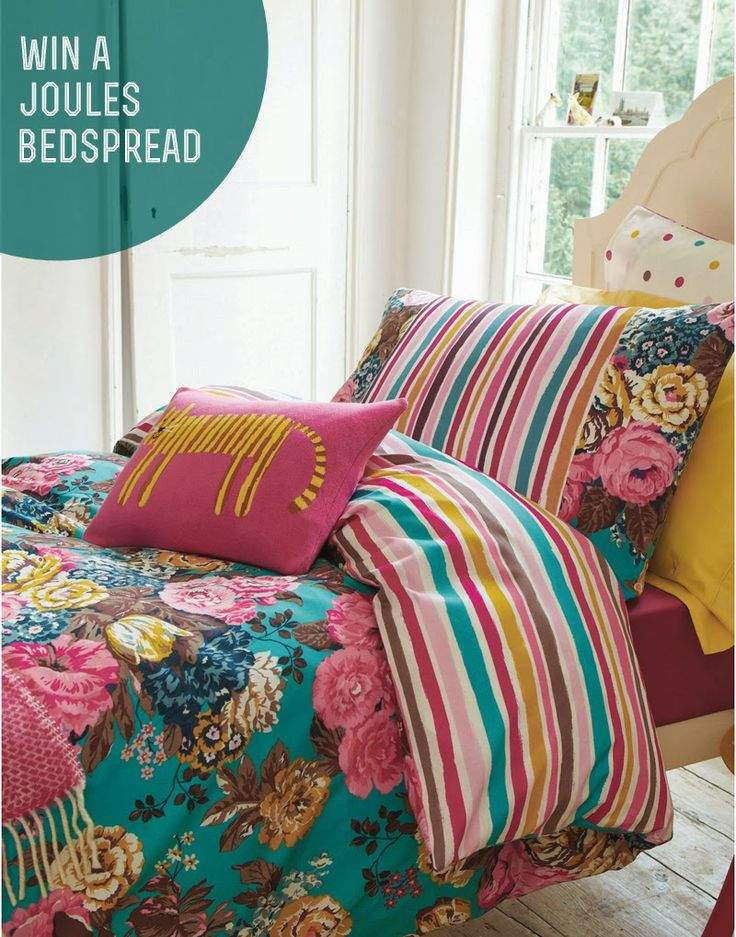 Win a Joules English Garden bed spread from Oldrids and Downtown
