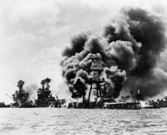 National Pearl Harbor Remembrance Day.  Let us honor and remember all those who died during the Japanese attack on Pearl Harbor on December 7, 1941.