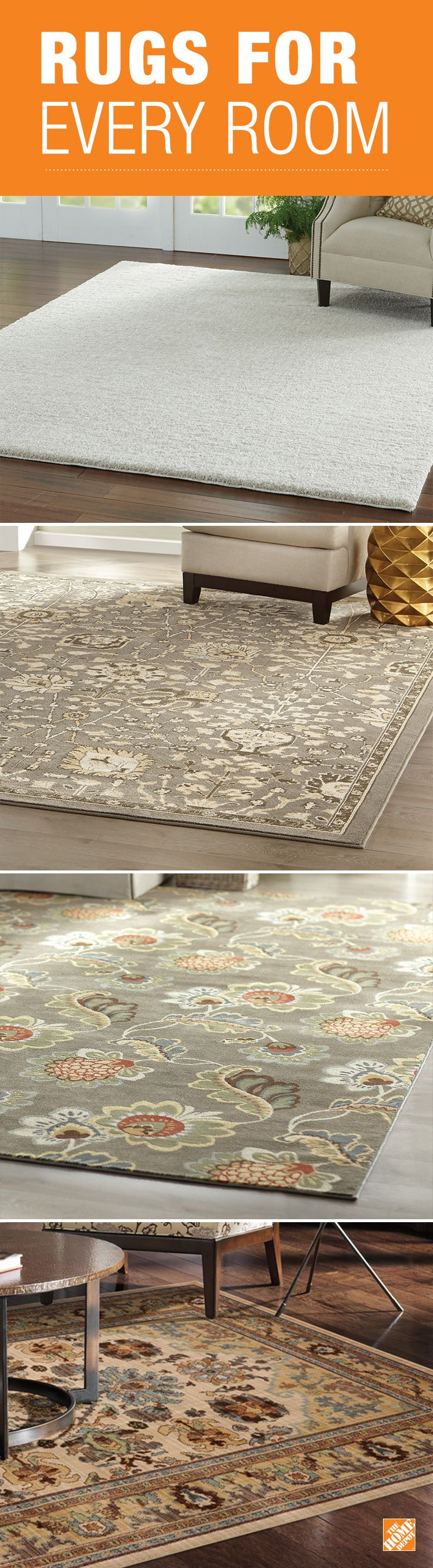 Softening the hardwood floors in your home with a rug is easy with new Mohawk designs and styles. With many different shapes and sizes to choose from a new look in your living room, dining room, bedroom, foyer or any other space is easy to achieve!