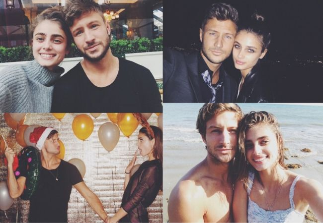 All-American model Taylor Hill, 19, became an Angel at 18 and her career has been on the fast track ever since. But you'll still find her hanging out with her equally-photogenic boyfriend, Michael Stephens.
