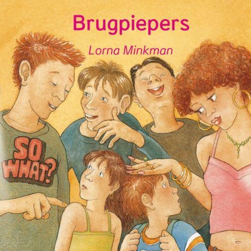 Brugpiepers! | Lorna Minkman: Marijn uit groep zeven is nieuwsgierig naar de middelbare school. Hij mag er een dagje gaan kijken. Verhaal…