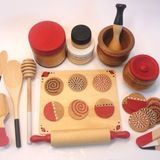 Wood toys are beautiful, engaging and durable. I have purchased many through Etsy over the years and feel gratified to support woodworkers around the country and world. As Etsy gets bigger and bigger, it can be a challenge to find what you're looking for so I've done the legwork on this one and compiled a list of ten fantastic woodworker's shops for you. Take a look at some of their wonderful creations...