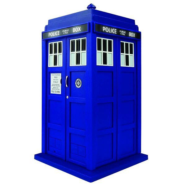 Doctor Who TARDIS Wireless Bluetooth Speaker with LED's and Sound Effects
