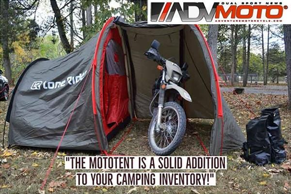 Lone Rider Mototent Photo And Review Motorcycle Camping Gear Motorcycle Camping Adventure Bike