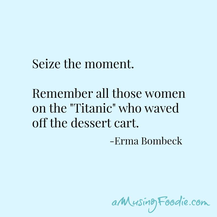 Erma Bombeck Food Quote