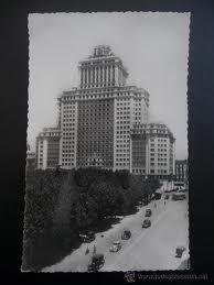 Plaza de España en los años 60