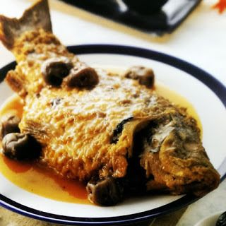 梅滷鯉魚│コイの梅煮込み