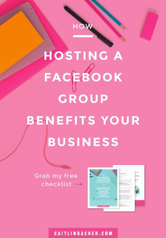 There has never been a BETTER time to host a Facebook group for your business. Click here to learn how.