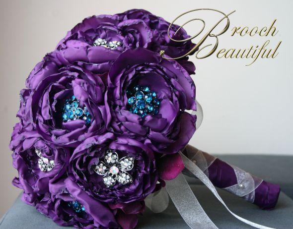 Alternatives To Fresh Flower Bouquets | Weddingbee Photo Gallery