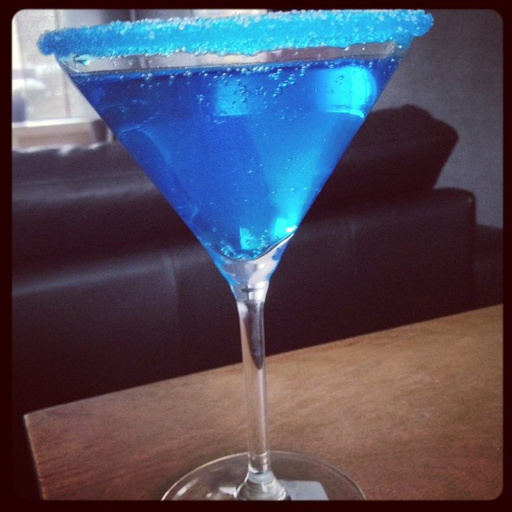 alcoholvrije cocktail blue curacao
