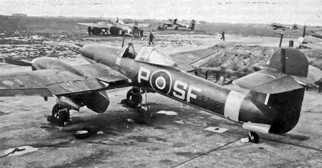 Westland Whirlwind SF- P of 137 Squadron at RAF Manston, Kent (1943) (due to slow development & delivery, only 3 squadrons were fully equipped with the Whirlwind during the war)