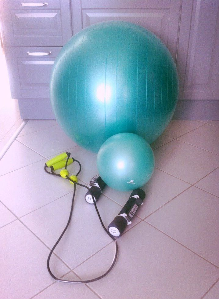 gymball, workout at home