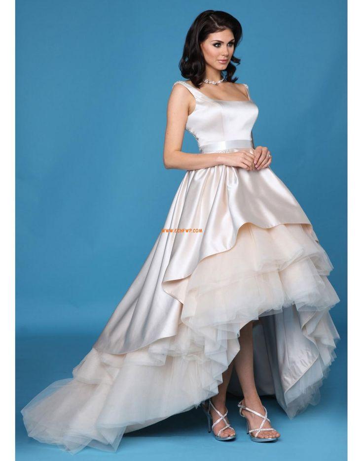 Jiskra a záře Bez rukávů S hlubokým výstřihem na zádech Svatební šaty Frýdek-Místek
