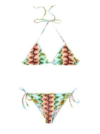 Sfumato dégradé reversible bikini | Missoni Mare | MATCHESFASH...