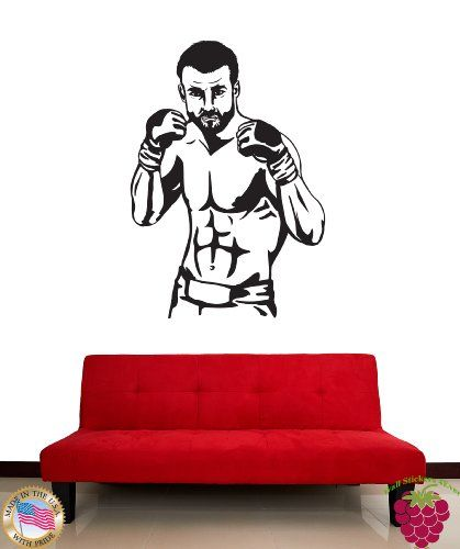 Wall Stickers Vinyl Decal UFC MMA Mix Martial Art Master z1172 $
