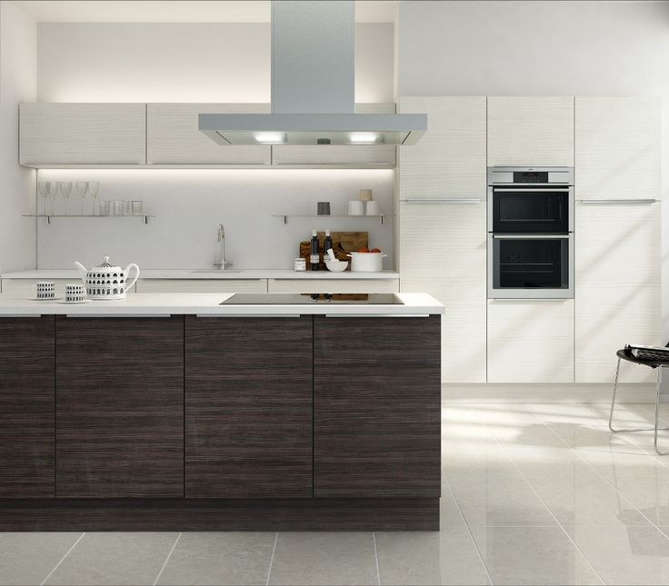 Zoom Hacienda White u0026 Hacienda Black Kitchen from the Ethos at Choose Style  Range available from