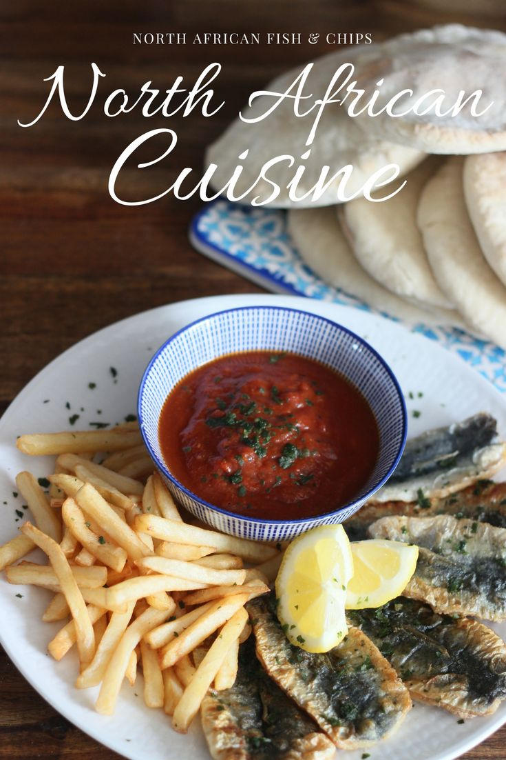 North African Fish And Chips Sauce