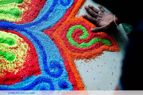 #Colors of #Rangoli, #eco-friendly #colourful #herbal