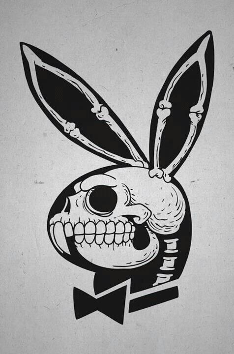 Bunny skull.