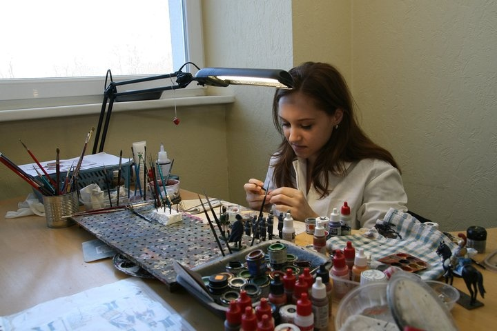 tin soldier production at our production site in Riga, Latvia #tinsoldiers #riga #historicalminiatures #artig