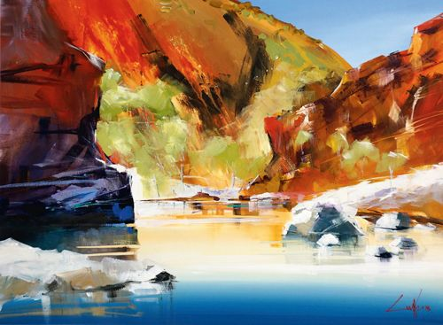 How to paint bright landscapes by Craig Penny in June 2014 Artist & Illustrator UK Magazine.