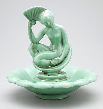 ARTHUR PERCY, tillskriven, skulptur, Gefle Porslinsfabrik, 1930-tal.
