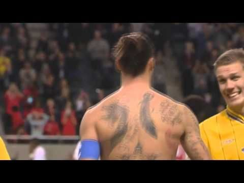 ▶ Sweden Vs England 4-2 - Zlatan Ibrahimovic Unbelievable Bicycle Goal with Stan Collymore commentary - YouTube