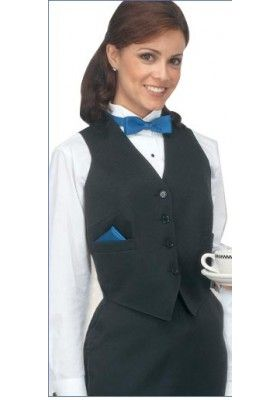 Women's Black Formal Vest available at http://www.bestbuyuniforms.com/designer-and-formal-vests/721-womens-black-formal-vest-100-poly.html