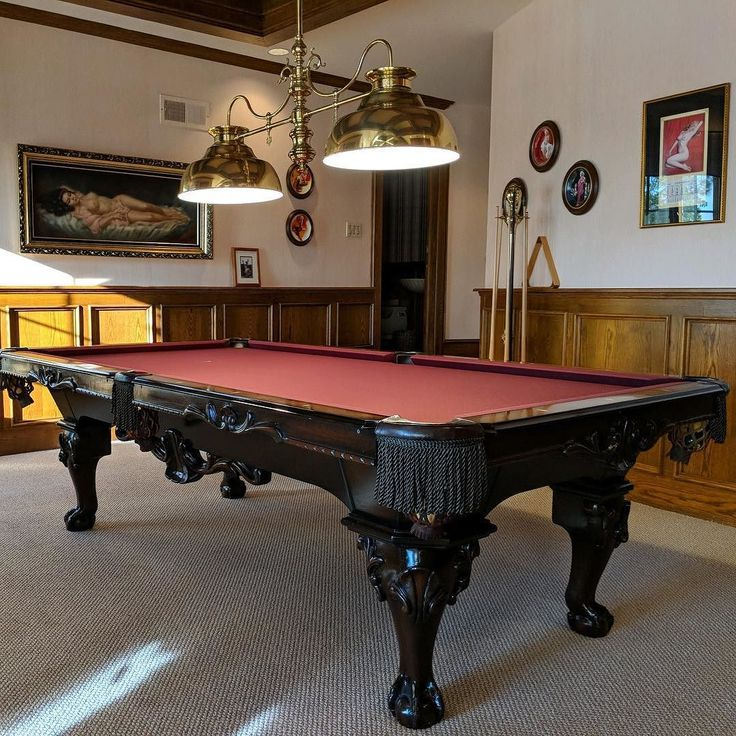 Finished Installing This 8 Foot Peter Vitalie Pool Table In North Tustin  California. The Clients Had Some Water Damage And We Disassembled And Moved  It To A ...