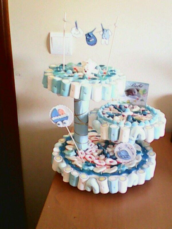 24 best tarta de chuches bautizos images on pinterest - Chuches para bautizo ...