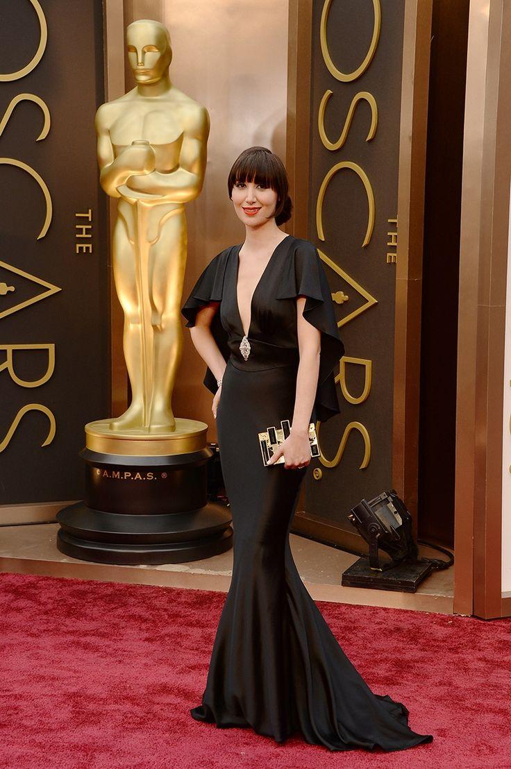 Giuliana rancic 2014 oscars paolo sebastian dress - Oscars 2014 Fashion Live From The Red Carpet