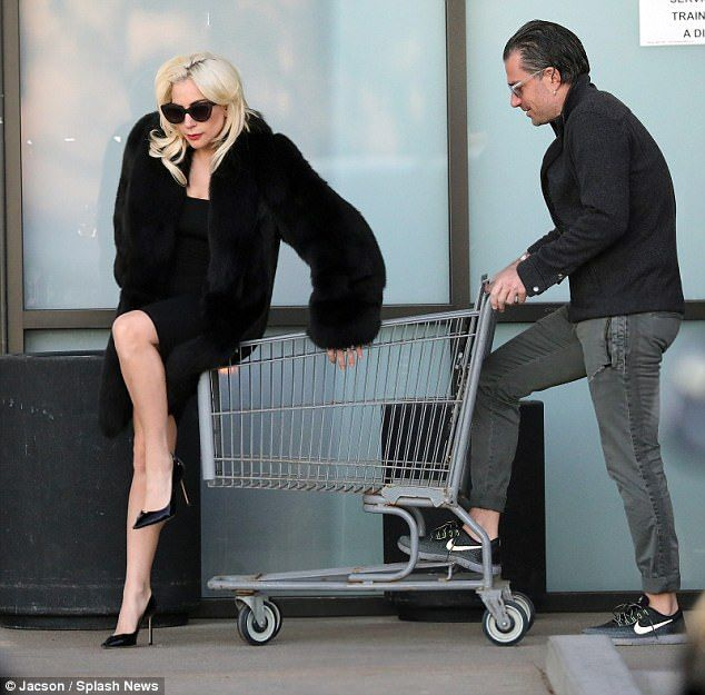 Lady Gaga And Fiance Goof Around At A Grocery Store