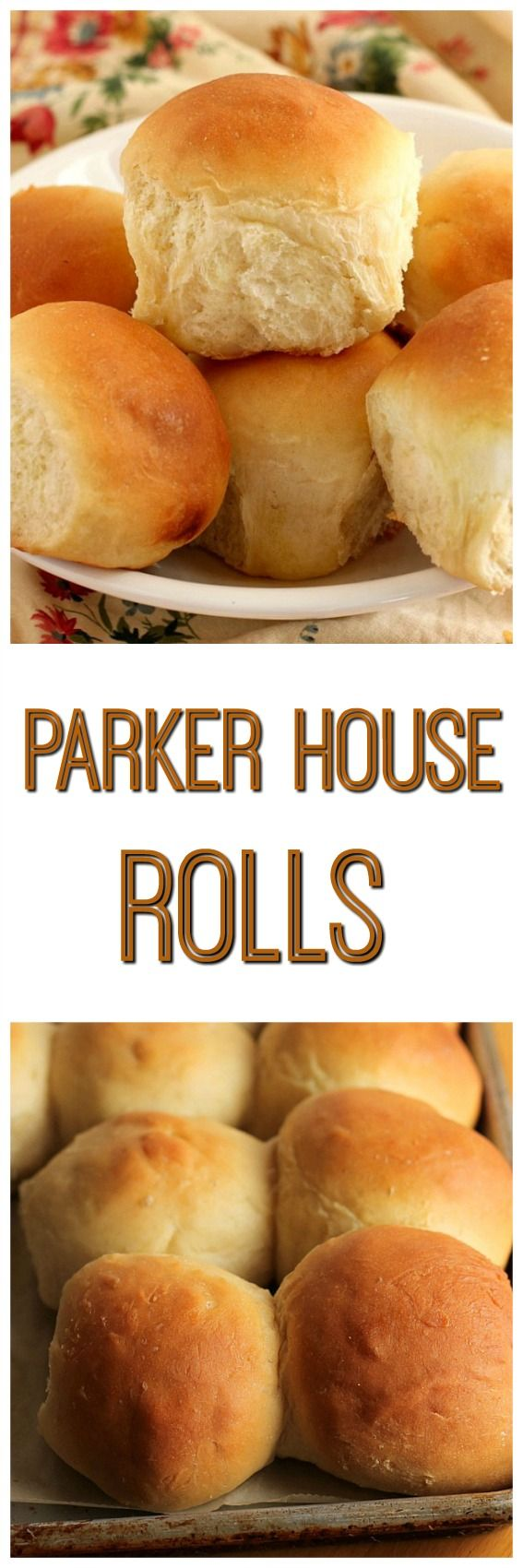 Parker House Rolls -  The recipe made 24 delicious rolls for me.  Enough to eat now and still have some to freeze for later. Homemade rolls in the freezer whenever I want them, I love that.