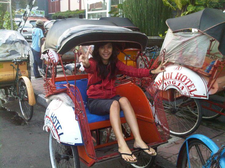 Erida Sisca V - Becak Racing Team Jogjakarta