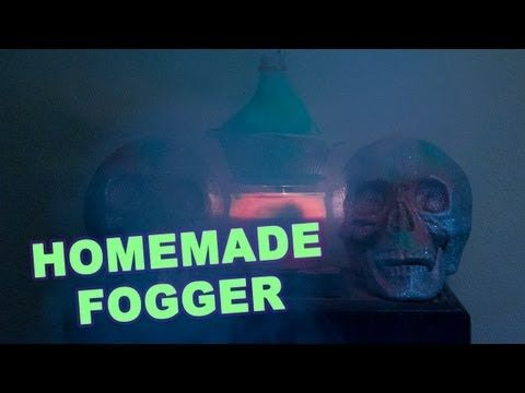 Using  basic household items you can create your own DIY Fog machine for just a few bucks!: Buffet Table, Diy Halloween Party Decor, Halloween Decorations Homemade, Diy Fog Machine, Distilled Water, Halloween Party Candles, Halloween Fog Ideas, Fog Machine Diy